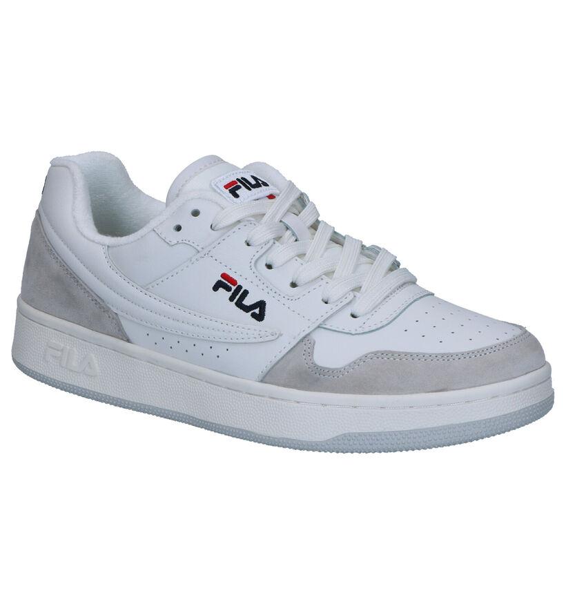 Fila Arcade Witte Sneakers in leer (265583)