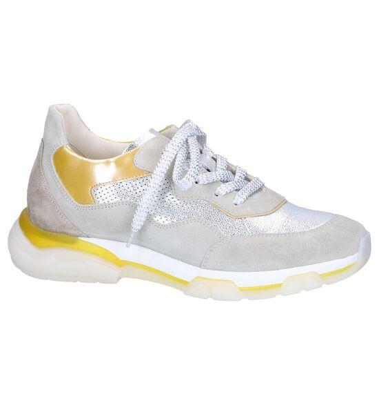 Tine's Chaussures à lacets en Argent
