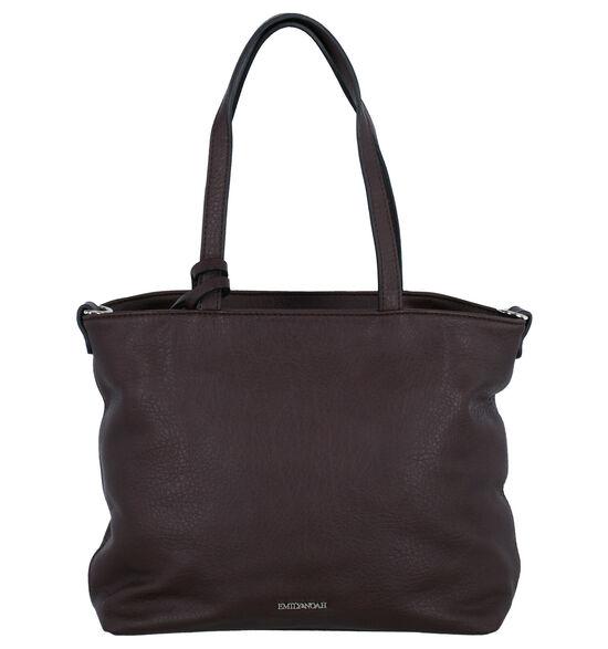 Emily & Noah Bruine Bag in bag Handtas