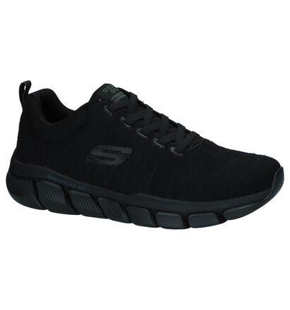 Kaki Sneakers Skechers Relaxed Fit Skech-Flex 3.0 , Zwart, pdp