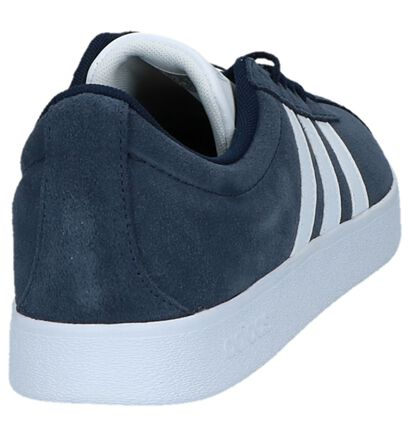 adidas VL Court 2.0 Zwarte Sneakers, Blauw, pdp