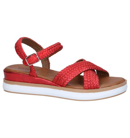 Rode Sandalen Inuovo