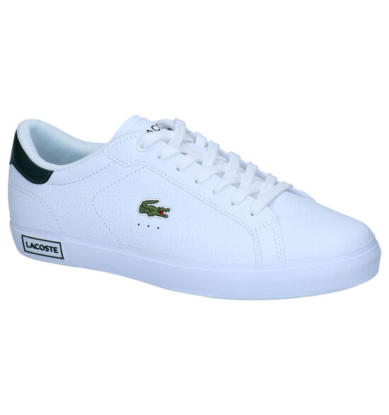 Lacoste Powercourt Witte Sneakers
