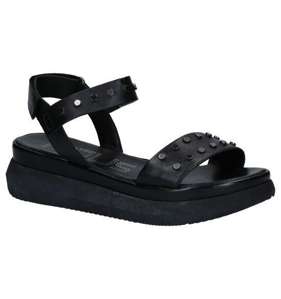Mjus Zwarte Sandalen