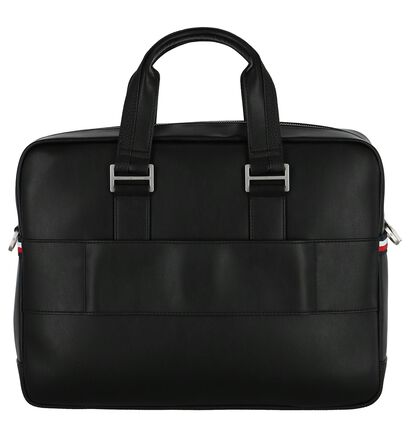 Tommy Hilfiger Business Zwarte Laptoptas in kunstleer (252351)
