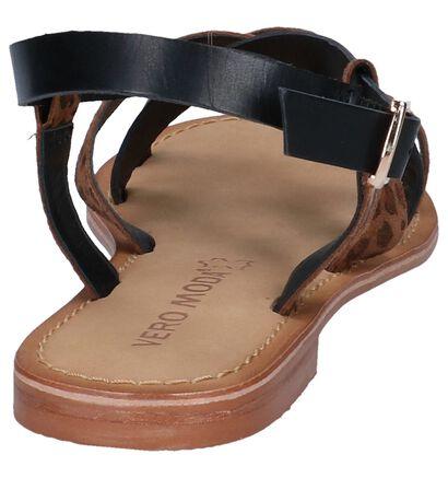 Zwarte/Zilveren Sandalen Vero Moda Mary, Multi, pdp