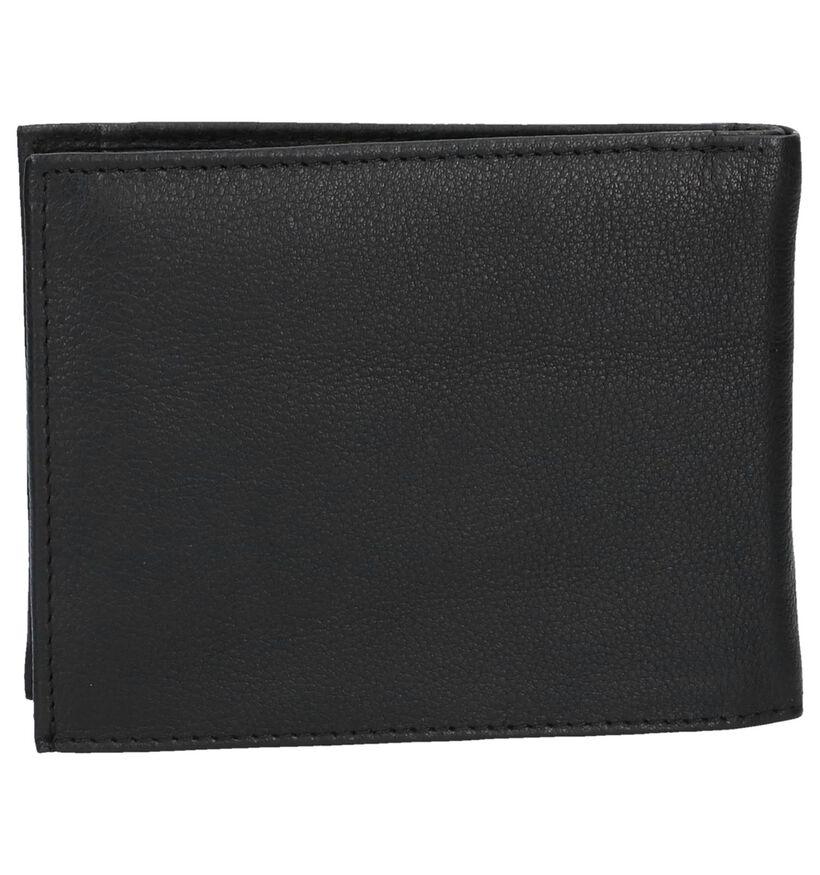 Euro-Leather Portefeuilles en Noir en cuir (275648)