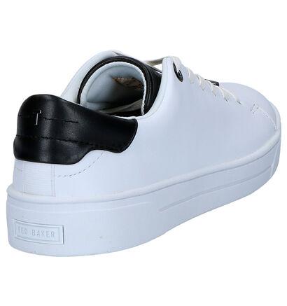 Ted Baker Zenib Witte Sneakers in leer (264994)