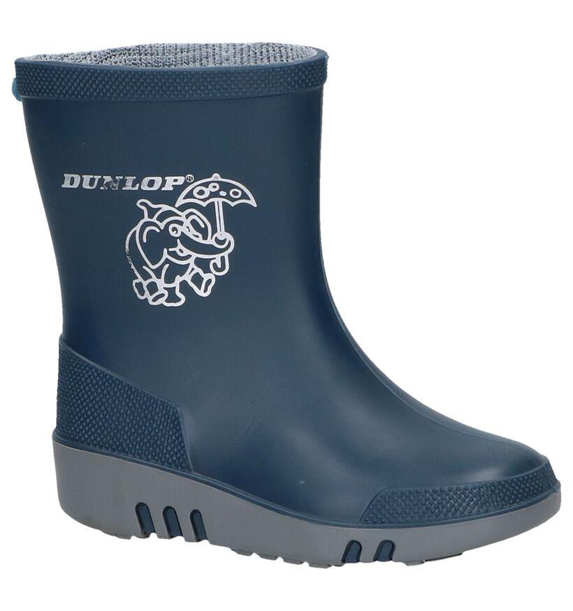 Dunlop Blauwe Regenlaarsjes in kunststof (8789)