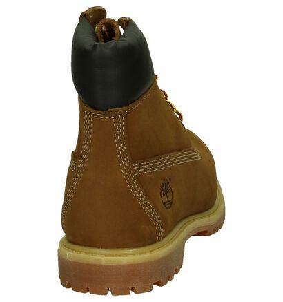 Cognac Timberland 6IN Premium Boots in nubuck (200523)