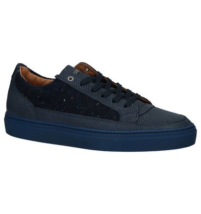Olivier Strelli Chaussures basses en Bleu foncé en cuir (232392)