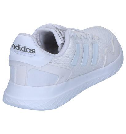 adidas Archivo Witte Sneakers in stof (252512)