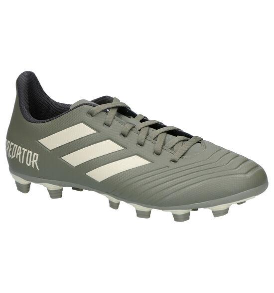 adidas Predator 19.4 FXG Chaussures de foot en Vert kaki
