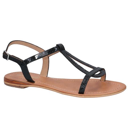 Les Tropeziennes Hamat Zwarte Sandalen