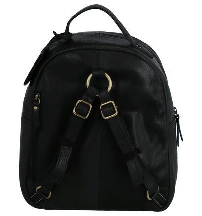 Burkely Craft Caily Sac à dos en Noir en cuir (260957)