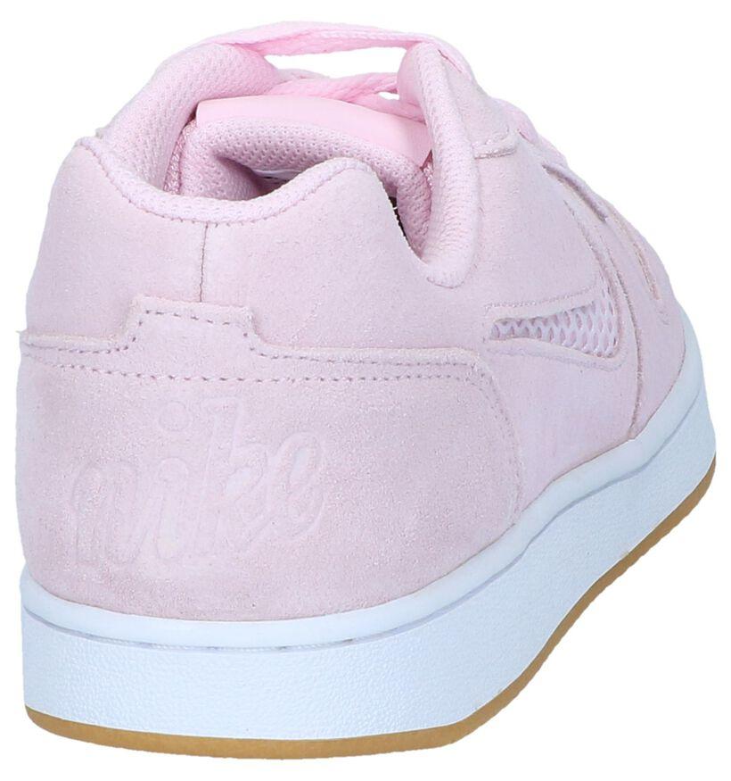Roze Sneakers Nike Ebernon Low in nubuck (237840)