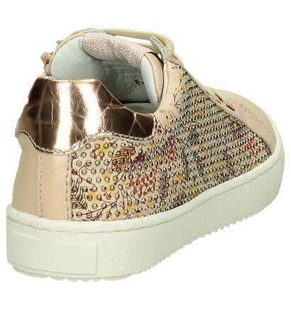 Roze Lage Geklede Sneaker Romagnoli, Roze, pdp
