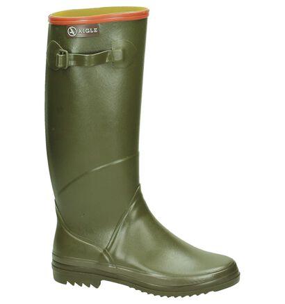 Aigle Bottes de pluie en Vert kaki en caoutchouc (161471)