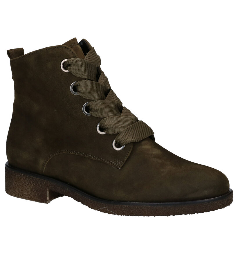 Gabor Blauwe Bottines in nubuck (282299)