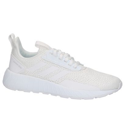 adidas Questar Drive W Witte Sneakers in stof (208788)