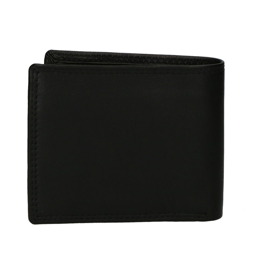 Euro-Leather Zwarte Portefeuille in leer (279375)