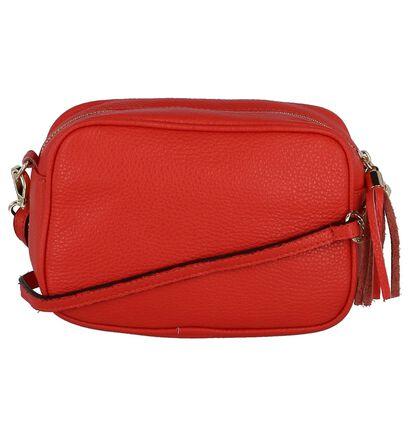 Dolce C. Sacs porté croisé en Rouge en cuir (255564)
