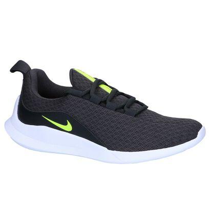 Donkergrijze Slip-on Sneakers Nike Viale GS in kunstleer (249828)