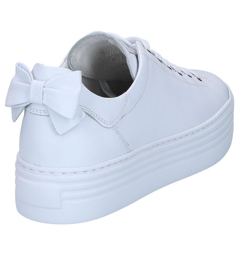 NeroGiardini Chaussures à lacets en Blanc en cuir (270578)