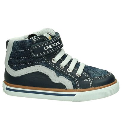 Geox Baskets hautes  (Bleu), Bleu, pdp