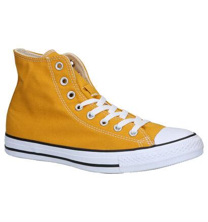 Converse Chuck Taylor AS Seas Gele Sneakers in stof (252771)