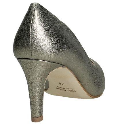 Cristian Daniel Blauwe Pumps High Heels in leer (197707)