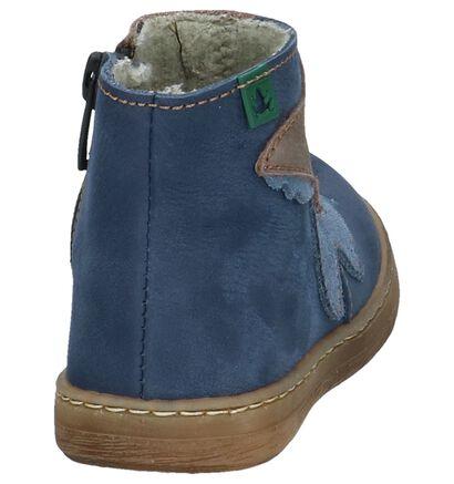 El Naturalista Chaussures hautes en Bleu foncé en cuir (226401)