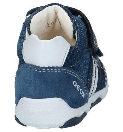 Geox Donker Blauwe Babyschoentjes in stof (210550)