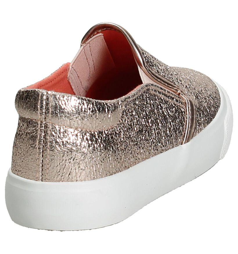 Slip-On Sneaker Ghost Rockers Metallic Roze in stof (189985)