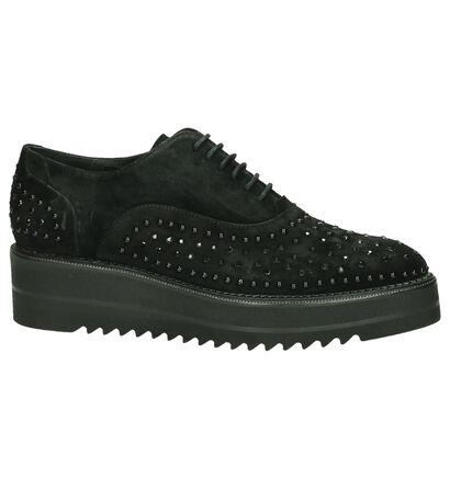 Zinda Chaussures à lacets  (Noir), Noir, pdp