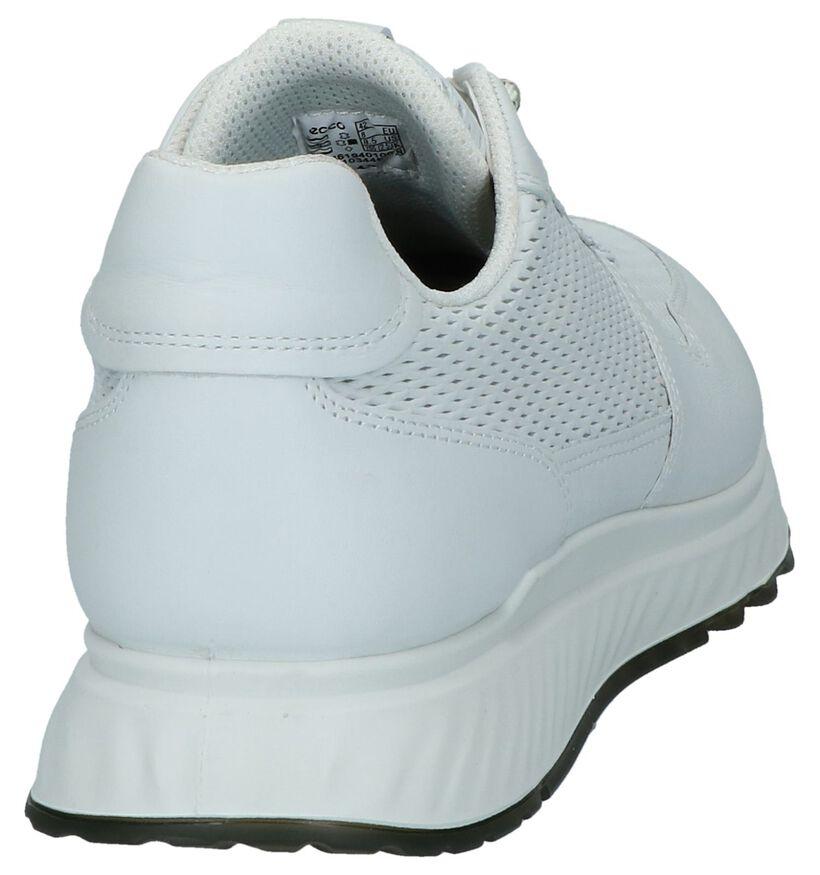 Ecco ST 1 Men's Zwarte Sneakers in leer (269721)