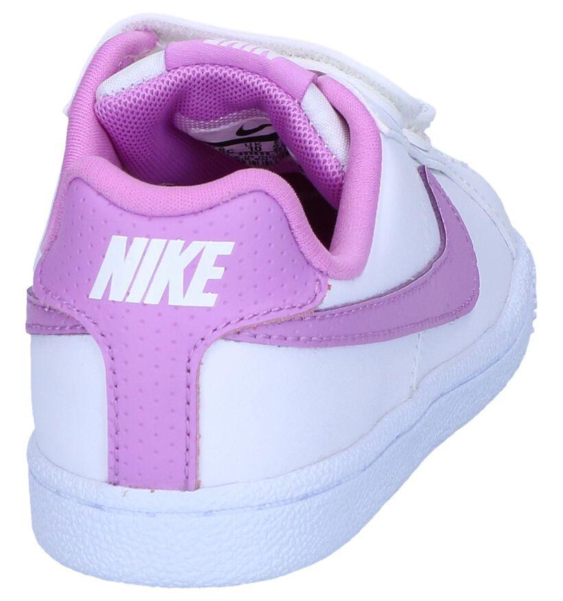 Witte Sneakers Nike Court Royale in kunstleer (249979)