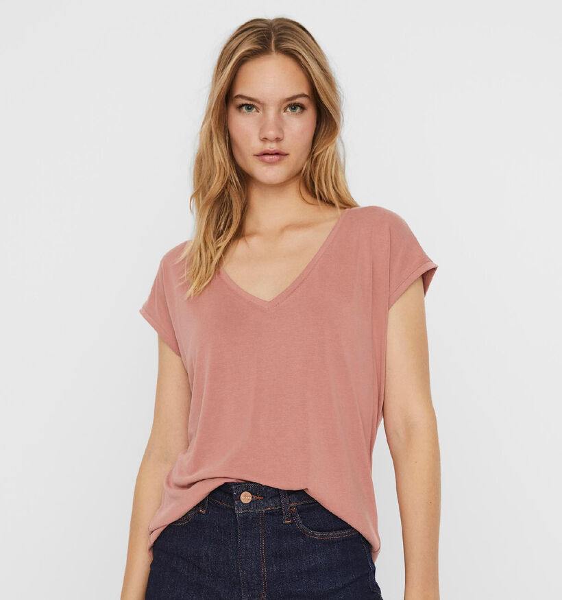 Vero Moda Filli Zwarte T-shirt (293125)