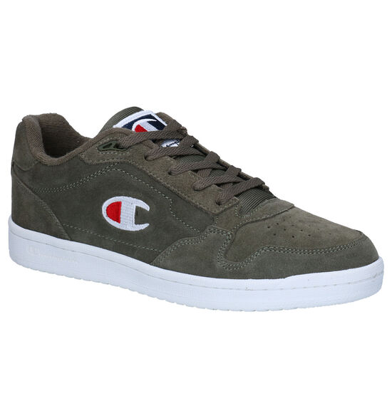Champion New York Low Baskets en Kaki