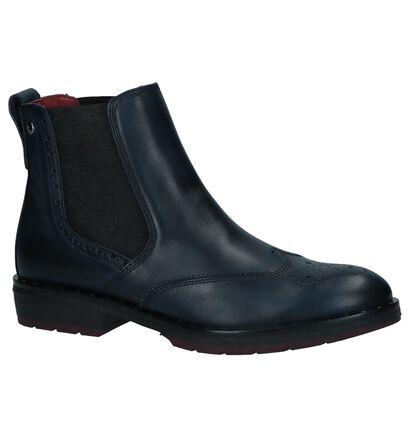 Donker Blauwe Chelsea Boots Pikolinos Caravaca in leer (233003)