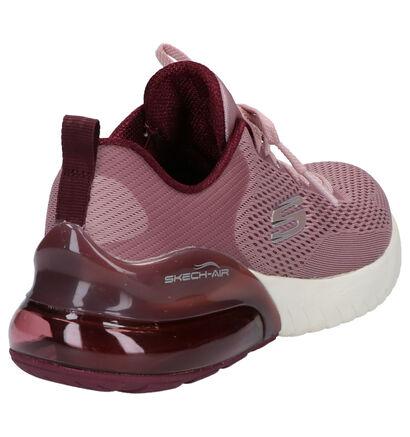 Skechers Paarse Sneakers in stof (262828)