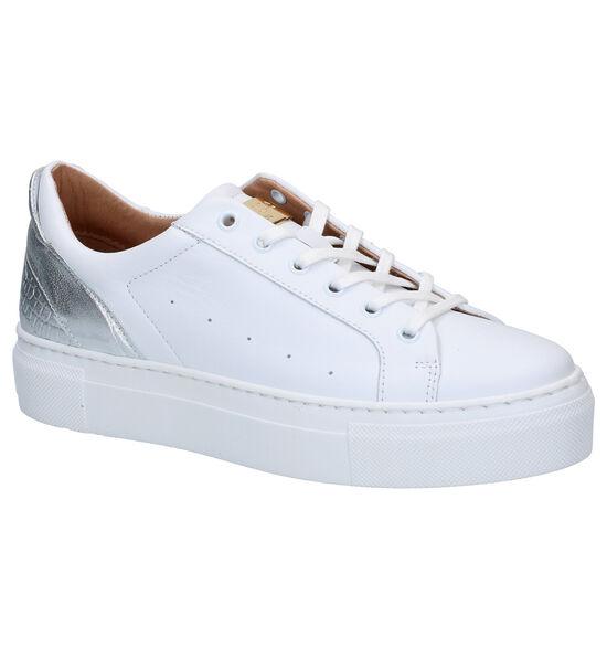 Scapa Chaussures à lacets en Blanc