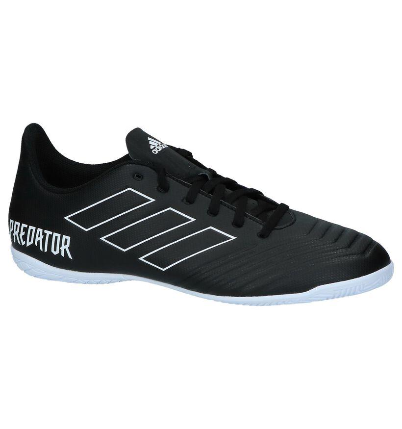 adidas Predator Zwarte Sportschoenen in kunstleer (221655)