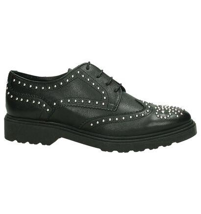Omnio Chaussures à lacets en Noir en cuir (194136)
