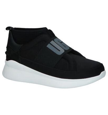 UGG Neutra Zwarte Sneakers in stof (253711)