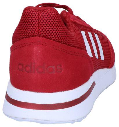 adidas RUN 70S Witte Sneakers in daim (252560)
