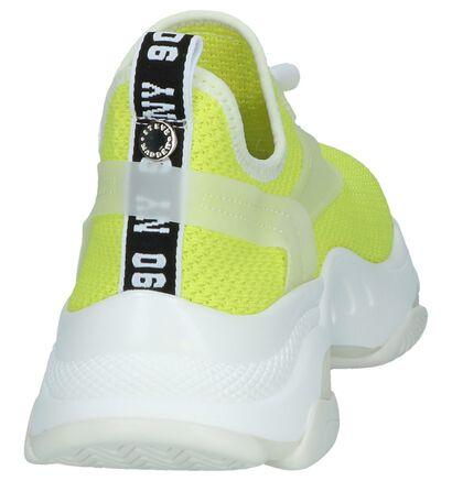 Zwarte Slip-on Sneakers Steve Madden Match, Geel, pdp