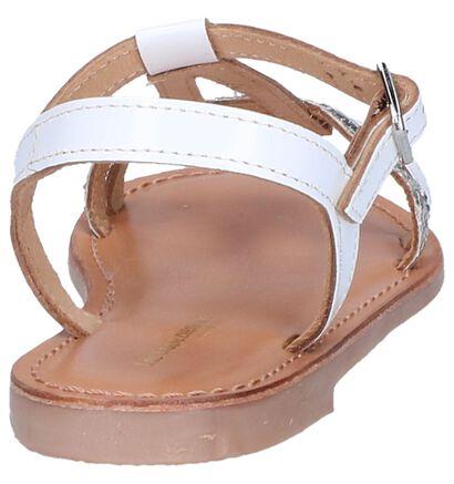 Witte Sandalen Les Tropeziennes Bada in leer (242858)