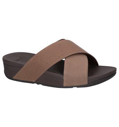 FitFlop Nu-pieds à talons  (Noir), Marron, pdp