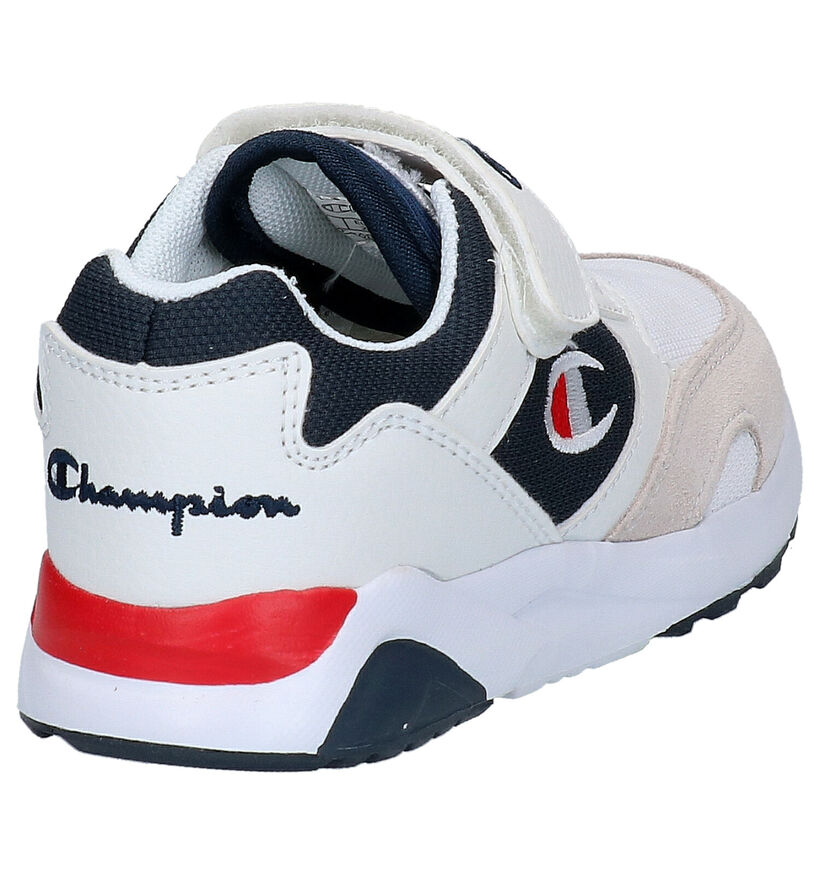 Champion Torrance Witte Sneakers in kunstleer (265808)